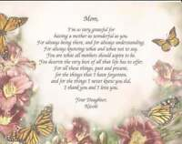 Personalized Poem for Mother Gift for Mother's Day Christmas, Birthday Customize
