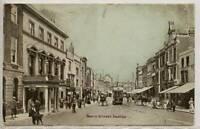 Tram on North Street, TAUNTON, Somerset 1904
