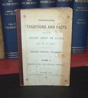 1897 FACTS & TRADITIONS Of ANCIENT GWENT Wales RARE