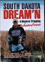 South Dakota Dream'n, A Muskrat Trapping Adventure, traps DVD Mark Steck