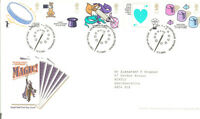 GB FDC GPO COVERS BUREAU HANDSTAMP 2005--2007 VARIOUS