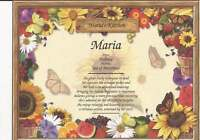 Personalized Name Meaning Wall Decor for Kitchen or Any Room-Great Gift