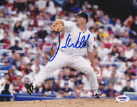 David Wells SIGNED 8x10 Photo New York Yankees PSA/DNA AUTOGRAPHED