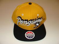 2011-12 Zephyr Pittsburgh Penguins Snapback Cap Hat NHL Hockey Shadow Script