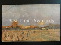 c1904 - Harvest Time in Northamptonshire - showing music score on reverse