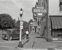 OHIO STREET SCENE 8X10 PHOTO DEPRESSION ERA 1938 SHAHN