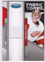 11-12 Panini Certified Fabric of the Game Jimmy Howard Jersey #/399