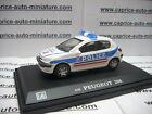 PEUGEOT 206 POLICE 1/43 EME