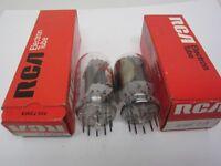 Vaccum Tube Vintage Radio Electronics Lot 2 RCA 6GF7A Boxed NOS