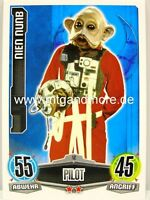 Force Attax Movie Card - Nien Nunb #012