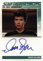 Complete Star Trek TNG Series 1 Autograph Card by Dana Sparks as Ensign Williams