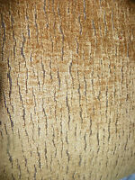 Gold Brown Animal Print Chenille Upholstery Fabric 1 Yard  R430