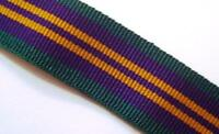ACSM 2011 Medal Ribbon, Miniature, Accumulated Campaign Service, Army, Military