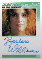 Complete Star Trek TNG Series 2 Autograph Card Barbara Williams as Anna