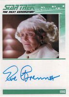 Complete Star Trek TNG Series 2 Autograph Card Eve Brenner as Inad