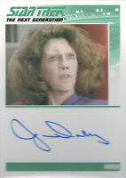 Complete Star Trek TNG Series 2 Autograph Card Jane Daly as Varria