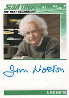 Complete Star Trek TNG Series 2 Autograph Card Jim Norton as Albert Einstein