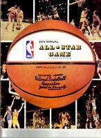 NBA ALL-STAR GAME PROGRAM 1973