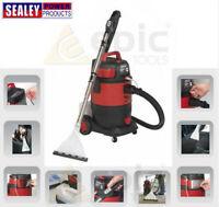 Sealey Wet/Dry Carpet Cleaner Vacuum/Vac Car/Van Valet/Valeting Machine VMA914