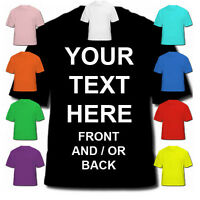 PERSONALISED CUSTOM DESIGN CREATED ON A T-SHIRT MEN