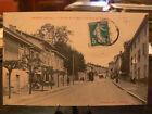 cpa 69 limonest entree du village a l'arrivee du tramway tram