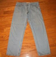 MEN'S LEVI'S 550 RELAXED FIT JEANS 38 39 31 32