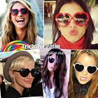 sg3 Celebrity Style 80's Vintage Lolita Love Heart Shaped Novelty Sunglasses