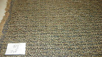 Beige Black Tweed Nylon Print Upholstery Fabric 1  Yard  R929