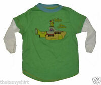 New Authentic Rowdy Sprout The Beatles Yellow Submarine Vintage Style 2fer Shirt