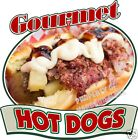 Hot Dogs Gourmet Decal 10