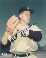 Whitey Ford SIGNED 8x10 Photo New York Yankees PSA/DNA AUTOGRAPHED