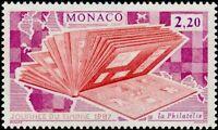 """MONACO N° 1577 """"JOURNEE DU TIMBRE, ALBUM DE TIMBRES"""" xxTTB"""