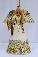 Ivory & Gold Heartwood Creek Angel Hanging Christmas Decoration 15574