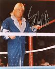 GREG THE HAMMER VALENTINE WWE SIGNED PHOTO w/ COA AUTOGRAPH