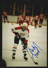 Mike McPhee Montreal Canadiens Auto Signed 3x5 Photo
