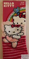 Lot de 3 paires Chaussette Fille Haute Mi-bas Hello Kitty Bien au chaud et Jolie