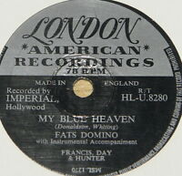 FATS DOMINO ~ I'M IN LOVE AGAIN ~ UK 78 RPM RECORD ~ ROCK 'N' ROLL ROCKABILLY