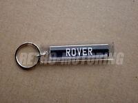 Rover keyring - British Classic Car Numberplate Style Retro Auto Keyfob / Keytag