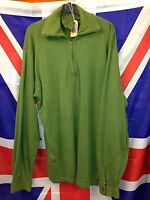 Genuine British Army Extreme Cold Thermal Norwegian (Norgie) Shirt Olive Green