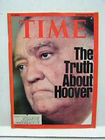 Dec 22, 1975- TIME Magazine- Truth About Hoover VG