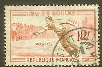 "FRANCE TIMBRE STAMP N°1161 ""JEUX TRADITIONNELS, BOULES"" OBLITERE TB"