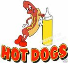 Hot Dogs Decal 14