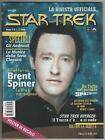 STAR TREK la rivista ufficiale FANUCCI # 2 inside magazine BRENT SPINER poster