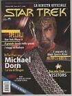 STAR TREK la rivista ufficiale FANUCCI N. 7 inside magazine MICHAEL DORN poster