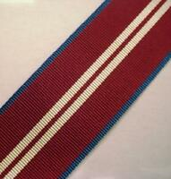 Queens Diamond Jubilee Medal Ribbon, Full Size, Army, British, Military, 1 metre