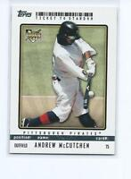 Andrew Mccutchen 2009 09 Topps Ticket to Stardom Rookie Card #75