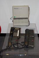 PANASONIC KX-Ta624 Telephone System + 1 Panasonic KX-T7730 + 3 Avaya Phones