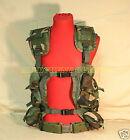 USGI MILITARY Vietnam Style LBV Load Bearing Vest USED w/ PISTOL BELT MEDIUM NEW