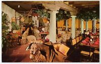 La Hacienda Restaurant Chicago ILLINOIS Vintage Postcard - Interior View