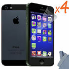 4x Newest HD Clear LCD Screen Protector Cover Guard For Apple iPhone 5 5th 5 Gen